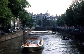 Canaux d'Amsterdam, Pays-Bas