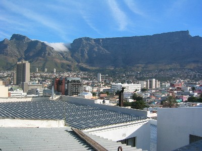 Cape Town, la Table Mountain