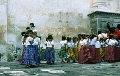 Écolières, Guatemala