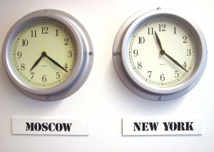 Heure: Moscou et New York