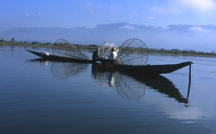 Lac Inle, pêcheurs