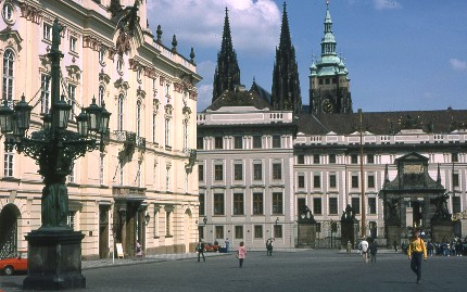 Prague, château de Prague