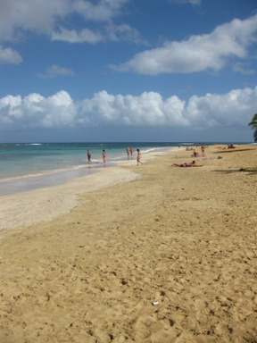 Plage de Las Terrenas, République dominicaine