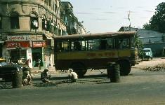 Scène de rue, Calcutta, Inde